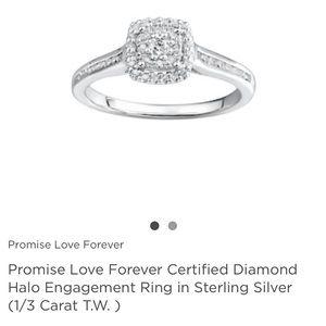 Diamond Ring /Engagement Ring / Promise Ring